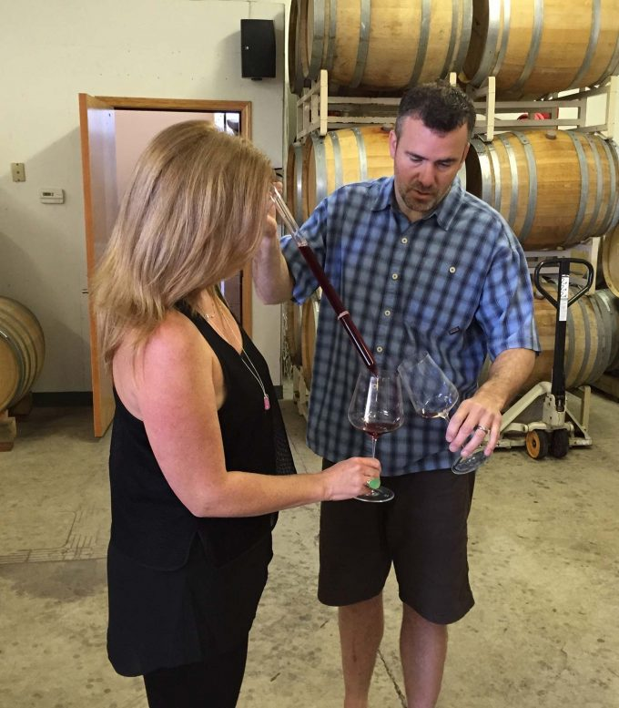 Salem Oregon Wine Tour: behind the scenes tasting